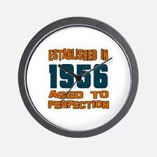 Established In 1956 Wall Clock