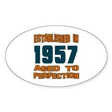 Established In 1957 Decal