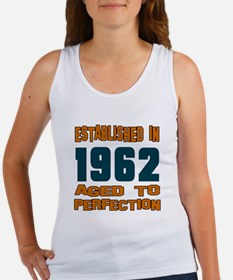 Established In 1962 Women's Tank Top