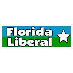 Florida Liberal Bumper Bumper Sticker