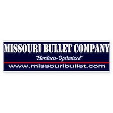 Missouri Bullet Bumper Bumper Sticker