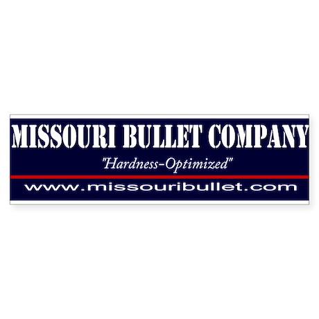 Missouri Bullet Bumper Sticker