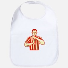 Basketball Referee Technical Foul Retro Bib