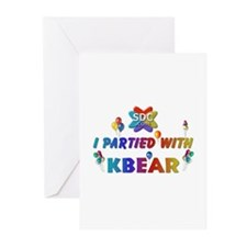KBEAR Products Greeting Cards (Pk of 10)
