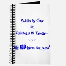 Suicide or Resistance_blue Journal