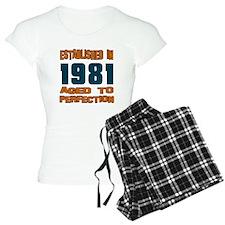 Established In 1981 Pajamas