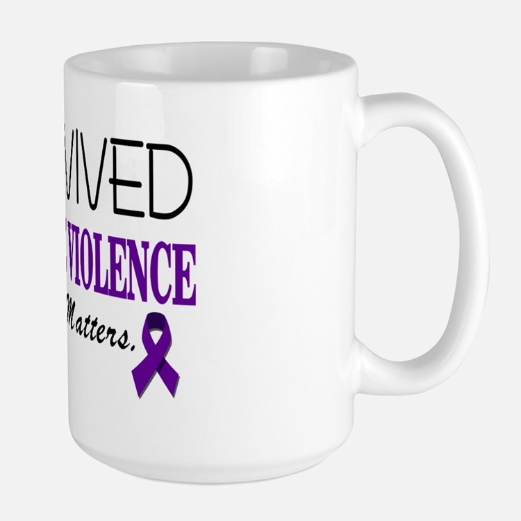 I Survived Domestic Violence-01 Mug