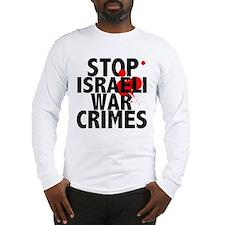 Funny Anti zionist Long Sleeve T-Shirt