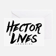 Hector Lives Longmire Greeting Cards