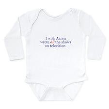 Funny Strip Long Sleeve Infant Bodysuit