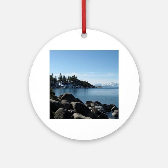 Lake Tahoe, Incline Village Round Ornament