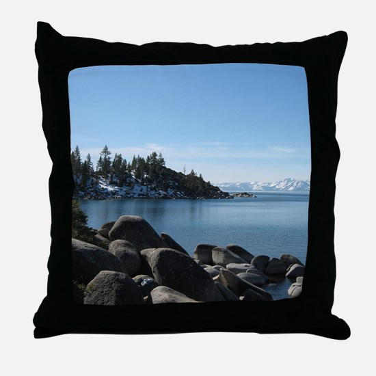 Lake Tahoe, Incline Village Throw Pillow