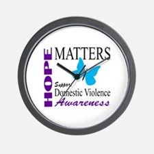 Hope Matters-01 Wall Clock