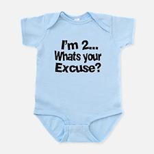 I'm 2 Infant Bodysuit