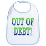 Out of debt Bib