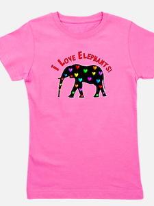 Cool Elephants Girl's Tee
