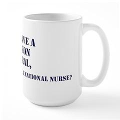 NN Why Not? Large Mug