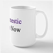 Stop Domestic Violence Now  Mug