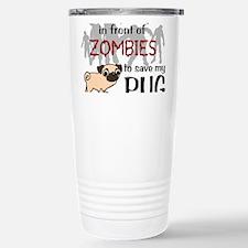 Cute Pugs Travel Mug