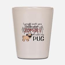 Cute Zombies Shot Glass