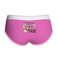Cute Pug Women's Boy Brief