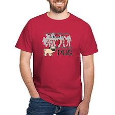 Unique Pug T-Shirt