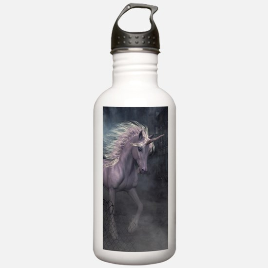 When the end is near begin the dreams Water Bottle