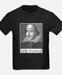 Shakespeare Will Power T-Shirt