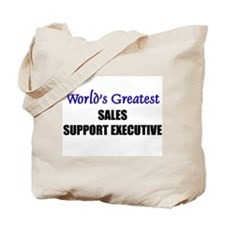 Worlds Greatest SALES REPRESENTATIVE Tote Bag