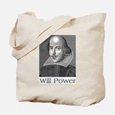 Shakespeare Will Power Tote Bag