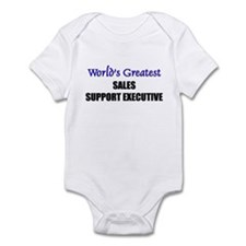 Worlds Greatest SALES REPRESENTATIVE Infant Bodysu