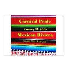 Carnival Pride 1-27-08 - Postcards (Package of 8)
