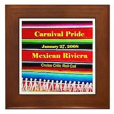 Carnival Pride 1-27-08 - Framed Tile