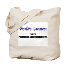Worlds Greatest SALES MANAGER Tote Bag