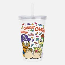 Candy! Candy! Candy! Acrylic Double-Wall Tumbler