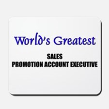 Worlds Greatest SALES MANAGER Mousepad