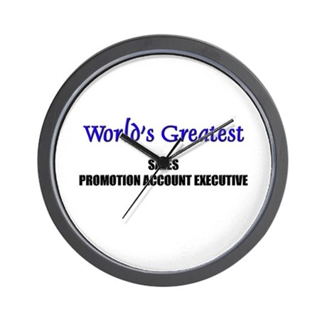 Worlds Greatest SALES MANAGER Wall Clock
