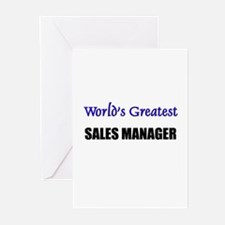 Worlds Greatest SALES EXECUTIVE Greeting Cards (Pk
