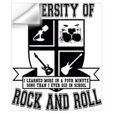 Rock & Roll Wall Decal