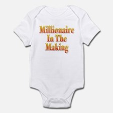 Millionaire in the making Infant Bodysuit