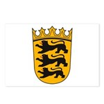 Baden Wurttemberg Coat of Arm Postcards (Package o