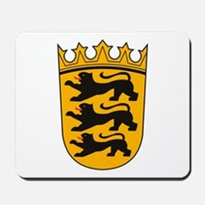 Baden Wurttemberg Coat of Arm Mousepad