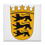 Baden Wurttemberg Coat of Arm Tile Coaster
