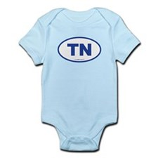 Tennessee TN Euro Oval Infant Bodysuit