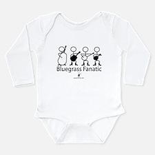 Cute Bluegrass music Long Sleeve Infant Bodysuit