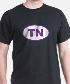 Tennessee TN Euro Oval T-Shirt