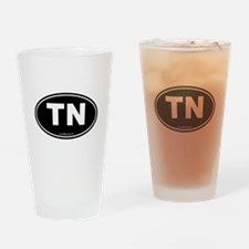 Tennessee TN Euro Oval Drinking Glass