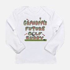 Unique Golfing grandpa Long Sleeve Infant T-Shirt