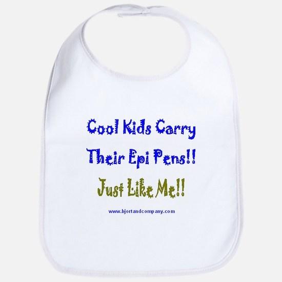 Cool Kids Carry Epi Pens Bib