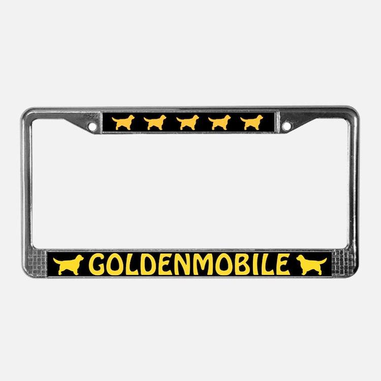 Goldenmobile License Plate Frame
